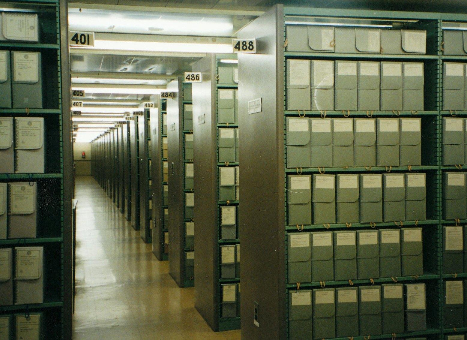 Перевозка архивных материалов