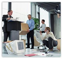 переезд офиса или производства