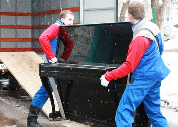 Перевозка пианино в Екатеринбурге